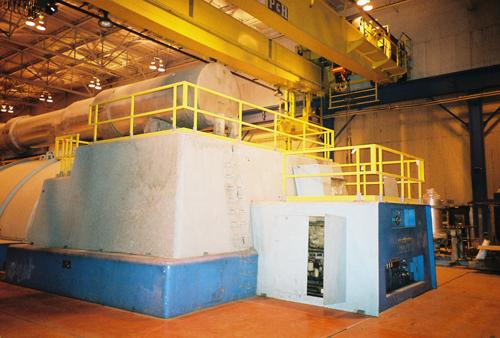 Turbine Handrail