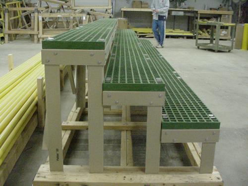 Fiberglass Battery Rack
